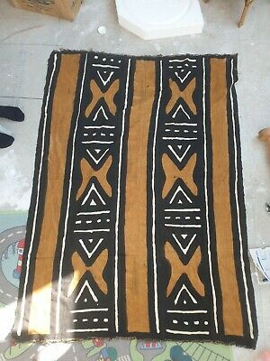 £9 • Buy African Hand Painted Fabric Curtain Screen Murals