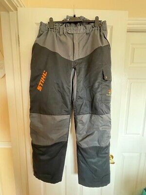 £25 • Buy Stihl Forest Wear Chainsaw Trousers Waist 40 Inches Type C