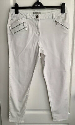 £2.99 • Buy George White Skinny Jeans Small 16 More Like14 Check Measurements