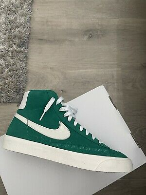 £65 • Buy NIKE Blazer Mid 77 Vintage ID By You Ladies Trainers White /Lucid Green UK 5.5