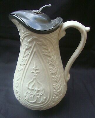 £20 • Buy Antique Victorian Jug With Pewter Lid