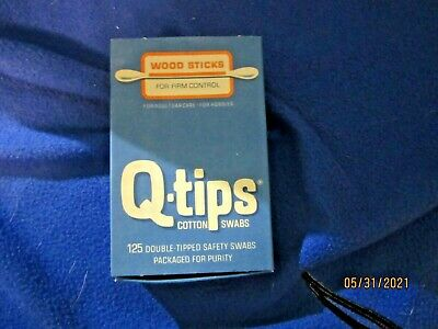 $ CDN14.57 • Buy Vintage Q-tips Box With Wood Stick Q-tips Plus Coupon For Dispenser