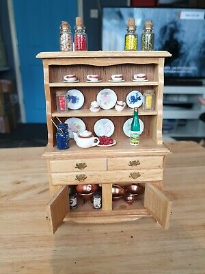 £4 • Buy Dolls House Kitchen Unit With Accessories