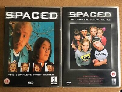 £0.99 • Buy SPACED Simon Pegg Jessica Stevenson Series 1 & 2 DVDs VERY GOOD CONDITION