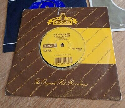 £1 • Buy The Honeycombs ~ Have I The Right 7  Vinyl Single Uk 1983 Old Gold Reissue