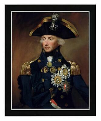£3.50 • Buy Admiral Horatio Lord Nelson Portrait Painting A4 Print Picture Wall Art Unframed