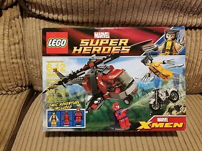 £106.23 • Buy (LIGHT CREASES) New Sealed LEGO 6866 Wolverine's Chopper Showdown With Deadpool