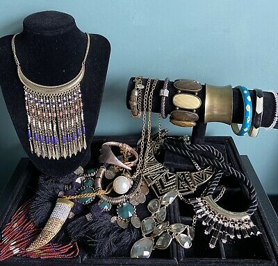 £15 • Buy Job Lot Costume Jewellery Used Necklaces Bracelets All Wearable