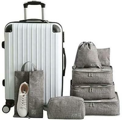 AU45.99 • Buy 7 Set Bag Packing Cubes Travel TheNextTrip Luggage Organiser Compression Pouches