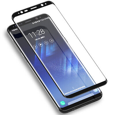 £3.95 • Buy 2 Pcs For Samsung Galaxy S7 S8 S9 Plus Full Tempered Glass Screen Protector