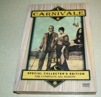£10.99 • Buy Carnivale : Complete All Season Collector's Edition  Uk Compatible Region 1 Dvd