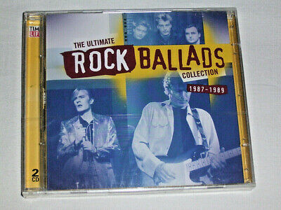 £14.62 • Buy 2 CD Time Life The Ultimate Rock Ballads Collection 1987-1989 # New Neu OVP #S20