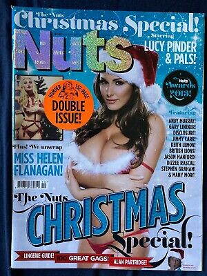 £12.90 • Buy Magazine Nuts December 2013 Lucy Pinder Rosie Jones Christmas Double Issue