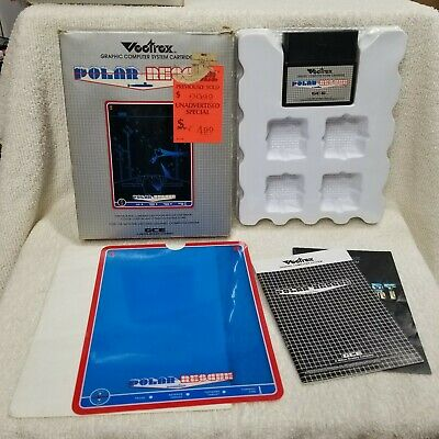 £208.63 • Buy ⭐Polar Rescue 1982 Vectrex Arcade System Complete CIB Contacts Cleaned ⭐👀