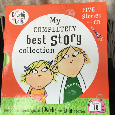 £1.90 • Buy Charlie And Lola My Completely Best Story Collection (5 Books Plus CD)