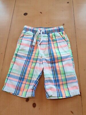£1.20 • Buy NEXT Boy's Check Summer Shorts Size 7 - 8 Years - New