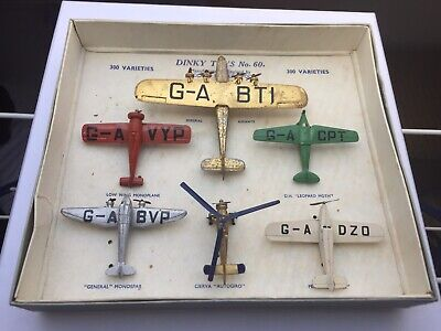 £950 • Buy Dinky Toys Aircraft Set 60. 2nd Issue In Original Condition And Box. Aeroplanes