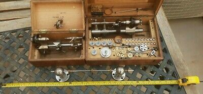 £622.81 • Buy Antique Lorch Lathe Set 6 Mm And Many  Parts Rare Dated 1901
