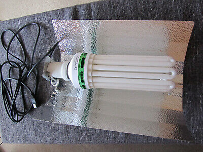 £30 • Buy GROWLIGHT REFLECTOR Complete With EnviroGro Cool White CFL 250w Lamp