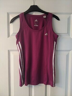 £4.99 • Buy Bright Pink Adidas Climacool Running Tank Top. Size 12. In Great Condition.