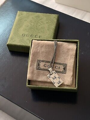 £33 • Buy Gucci Ghost Necklace 925 Sterling Silver