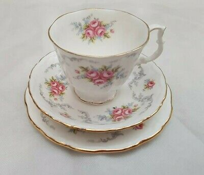 £17.49 • Buy Royal Albert Tranquility Trio Cup, Saucer And Side Plate