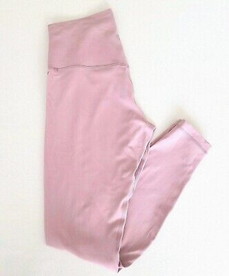 """$ CDN94.73 • Buy Lululemon Align Pant 25"""" Size 12 Pink Taupe PKTP NEW WITH TAGS!"""