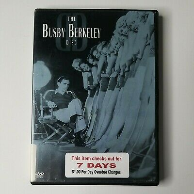 £9.42 • Buy The Busby Berkeley Disc 2006 DVD Not Rated  B&W 163 Min FORMER LIBRARY RENTAL