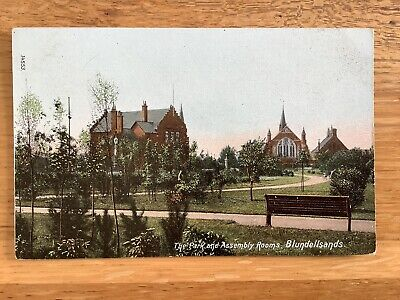 £1.20 • Buy Vintage Postcard, Liverpool, Crosby, Park & Assembly Rooms, Blundellsands,Wrench