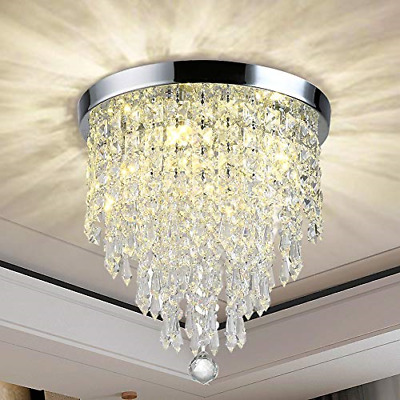 £46.59 • Buy Luxurious Crystal Chandeliers Lighting, K9 Chandelier Crystals Ceiling Bead With