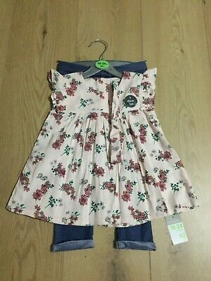 £7.99 • Buy BNWT Baby Girls Primark 3 Piece Outfit Set Age 18-24 Months