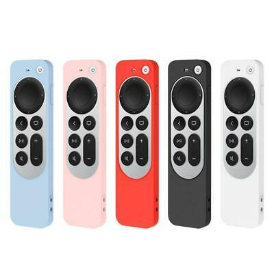 AU6.22 • Buy Silicone Case For Apple-TV 4K 2nd Gen Siri Remote Soft Dust Proof Cover
