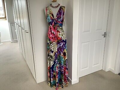 £9.99 • Buy Dramatic Maxi Dress By Phase Eight Size 10/12