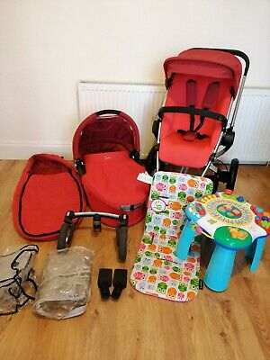 £50 • Buy Quinny Buzz Rebel Red Travel System 2 In 1