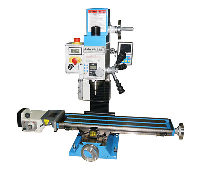 £2208 • Buy Amadeal VM25LV Milling Machine MT3 With 3 Axis DRO+ POWERFEED