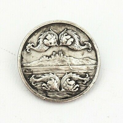 £79.99 • Buy DOVER SEA ANGLING ASSOCIATION SILVER MEDAL 1921 30g