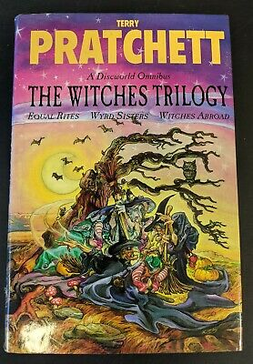 £10 • Buy The Witches Trilogy By Terry Pratchett (Hardback 1995, Gollanz)