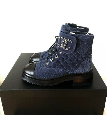 £1734.57 • Buy CHANEL Combat Boots New Pre-Fall 21A