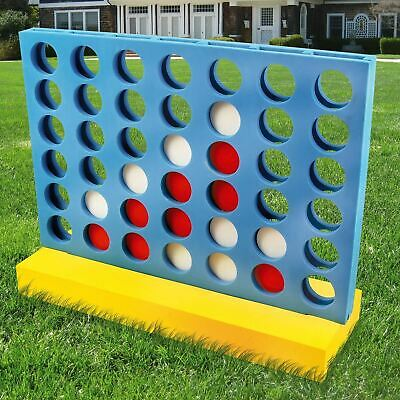 £21.99 • Buy Outdoor Garden Connect 4 In A Row Family Game Pub BBQ Party Giant Foam Toy