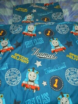£8 • Buy Thomas And Friends Blue Single Duvet Cover Set 100 % Polyester