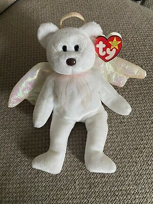 £210 • Buy Beanie Baby RARE Halo Bear With Brown Nose