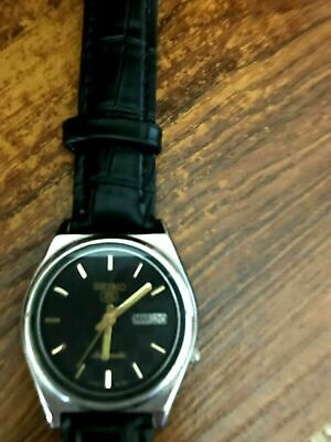 $ CDN1.90 • Buy SEIKO 5 Automatic 7009 3100 From April 1996 Running Keeping Time