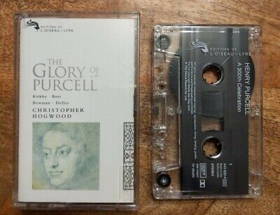 £2.99 • Buy L'oiseau-lyre Cassette 444 620-4 Christopher Hogwood The Glory Of Purcell