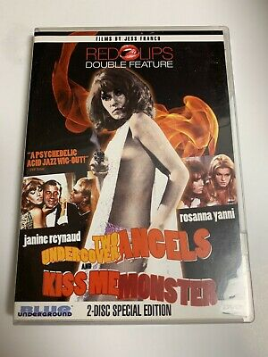 £7.07 • Buy Two Undercover Angels / Kiss Me Monster DVD ~ JESS FRANCO ~ Like New!