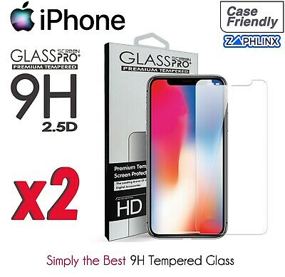 AU1.75 • Buy 2021-IPhone 12 11 XS XR X Pro Max Plus8 7 6  9H Screen Protector Tempered Glass