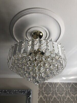 £70 • Buy 2 Chandelier Light Fittings These Are A Matching Pair Of Beautiful Chandeliers
