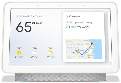 AU81.51 • Buy Google Home Hub With Google Assistant Charcoal Brand New - Ships Fast