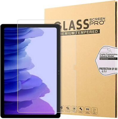 £4.99 • Buy Tempered Glass Screen Protector For Samsung Galaxy Tab A7 10.4  Edition SM-T500