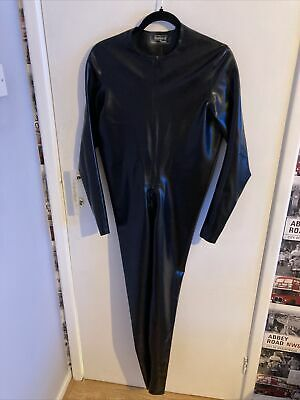 £40 • Buy Male Latex Catsuit Neck Entry With Crotch Zip (L)