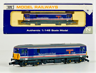 £84.99 • Buy Dapol N Gauge - Nd-012a - Class 73 Electro Diesel 73129 City Of Winchester Nse